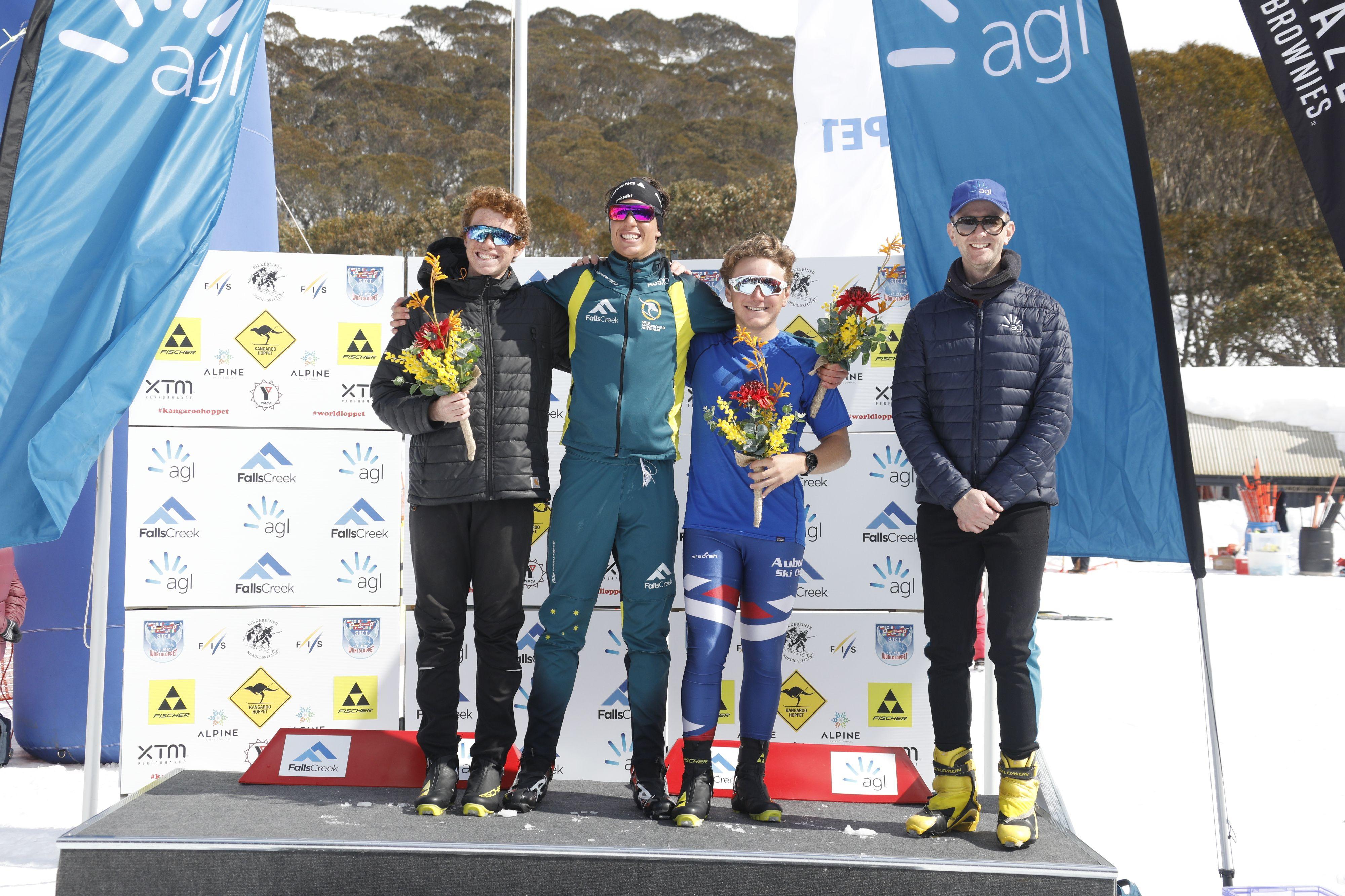 Birki men 2018 podium