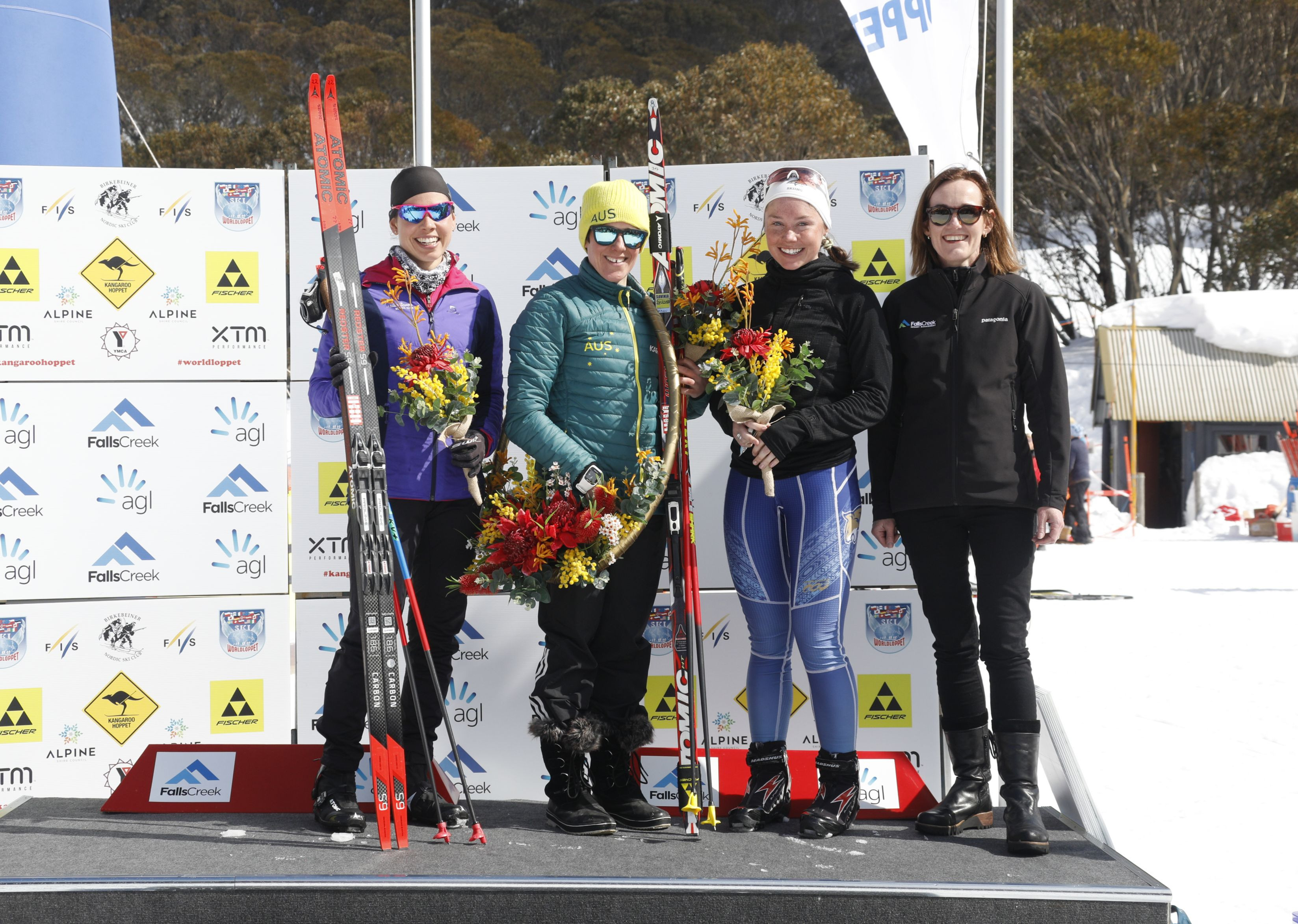 Hoppet podium - Women